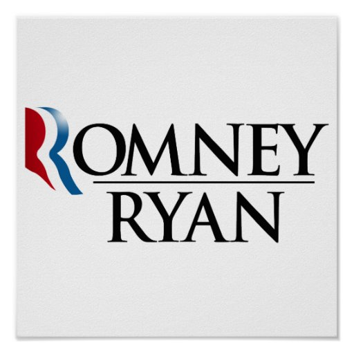 OFFICIAL ROMNEY RYAN 2012 -.png Print