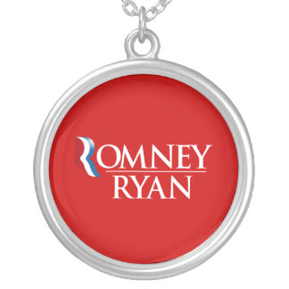 OFFICIAL ROMNEY RYAN 2012-.png Round Pendant Necklace
