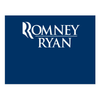 OFFICIAL ROMNEY RYAN LOGO - png Postcards