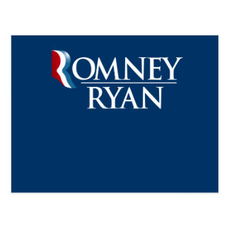 OFFICIAL ROMNEY RYAN - - png Post Cards