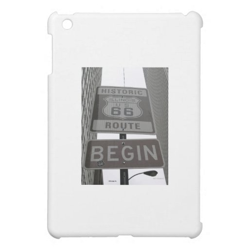 Official Route 66 begin sign iPad Mini Case