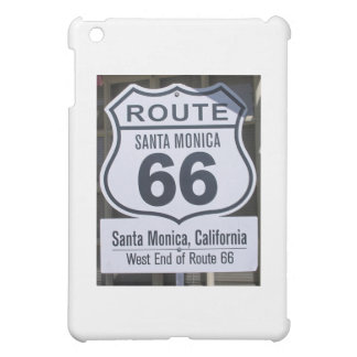 Official Route 66 end sign santa monica Cover For The iPad Mini
