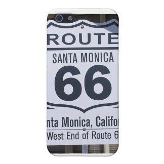 Official Route 66 end sign santa monica iPhone SE/5/5s Cover