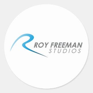 Official Roy Freeman Studios Merchandise Round Sticker