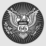 Official Rt. 66 Classic Round Sticker