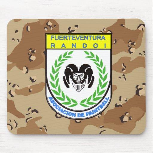 Official rug Association Randoi - Camo4- M2 Mouse Pad