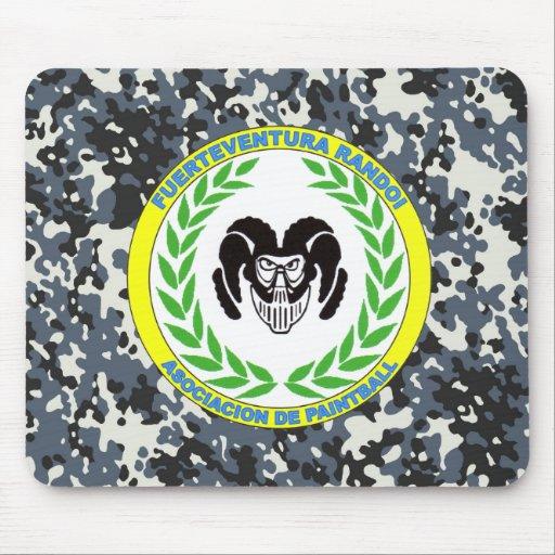 Official rug Association Randoi - Camo6- M1 Mouse Pad