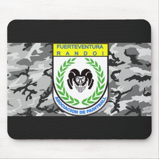 Official rug Association Randoi - Camo8- M2 Mousepad