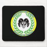 Official rug Randoi Association - black - M1 Mouse Pad