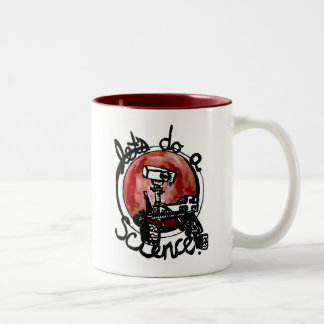 Official @SarcasticRover Logo Two-Tone Coffee Mug
