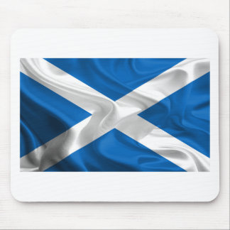 Official Scottish flag for the independence Mouse Pad