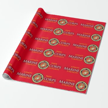 Official Seal - Marine Corps Wrapping Paper