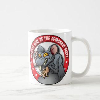 OFFICIAL SEAL of The DEMOCRAT AKA DEMON-RAT PARTY Coffee Mug
