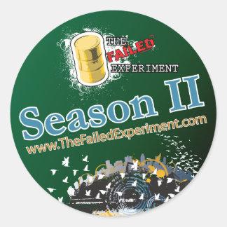 Official Season 2 Sticker