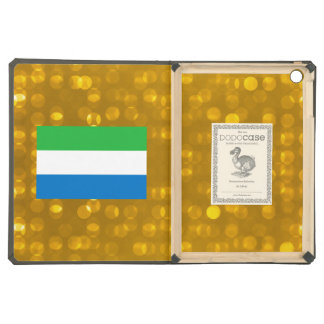 Official Sierra Leonean Flag Cover For iPad Air