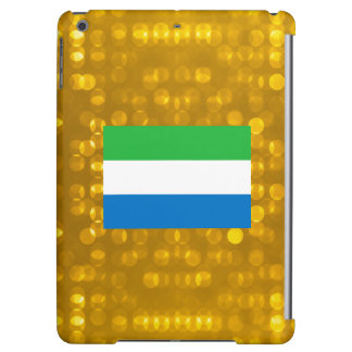 Official Sierra Leonean Flag Case For iPad Air