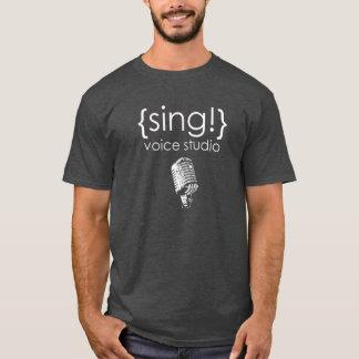 Official Sing Voice Studio white logo T-Shirt