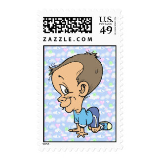 Official Sneaky Sneaks Jeffery Postage Stamp