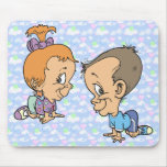 Official Sneaky Sneaks Kitty Ann and Jeffery Mouse Pad