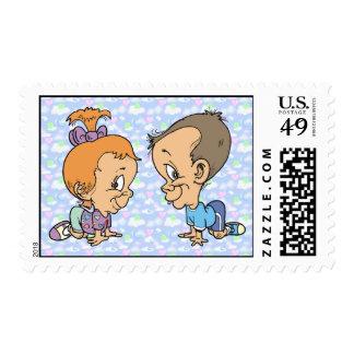Official Sneaky Sneaks Kitty Ann Jeffery Stamp