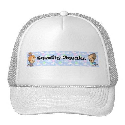 Official Sneaky Sneaks Logo Trucker Hat