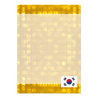 Official South Korean Flag Card