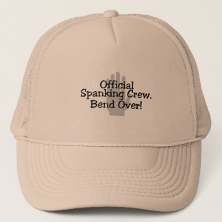 Official Spanking Crew Bend Over Trucker Hat
