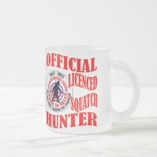 Official squatch hunter coffee mugs