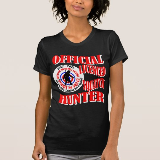 Official squatch hunter T-Shirt