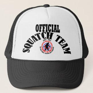 Official squatch team trucker hat