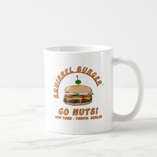 Official Squirrel Burger Logo Products. Classic White Coffee Mug