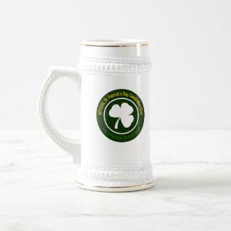 Official St. Paddy's Gear Custom 18 oz Stein 18 Oz Beer Stein