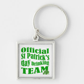 Official St Patrick's day drinking team Keychain