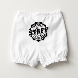 Official Staff of a Bichon Frise Diaper Cover