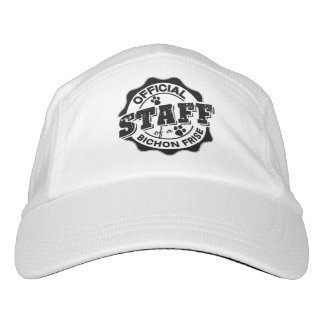 Official Staff of a Bichon Frise Headsweats Hat