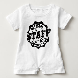 Official Staff of a Bichon Frise Infant Romper