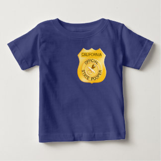 Official State Pooper Baby T-Shirt