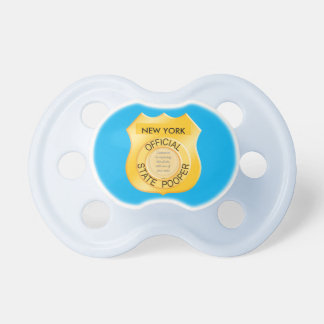 Official State Pooper Photo Frame BooginHead Pacifier