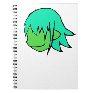 Official Stitchey Inc. Elven Emblem Notebook