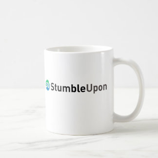 Official StumbleUpon logo Classic White Coffee Mug