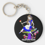 Official Suicide Sam Merch Art by Shannon Justice Keychain
