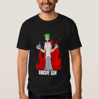 Official Suicide Sam Merch Art by Shannon Justice Tee Shirt