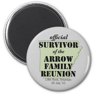 Official Survivor Fridge Magnet