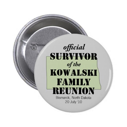 Official Survivor (green) 2 Inch Round Button