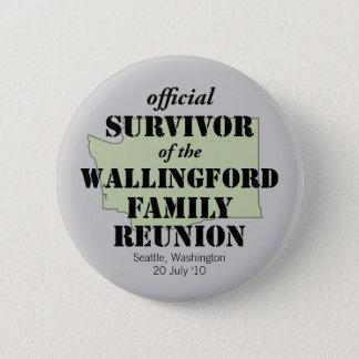 Official Survivor (green) Button