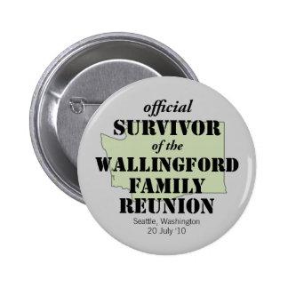 Official Survivor green Pins