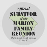 custom family reunion, humorous, funny family