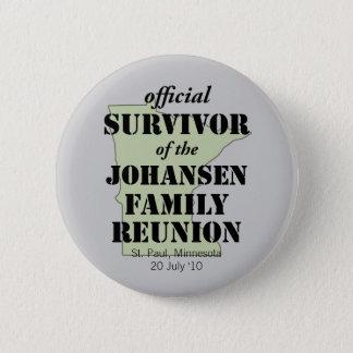 Official Survivor (green) Pinback Button
