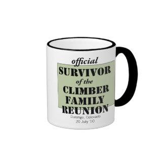 Official Survivor (green) Ringer Coffee Mug