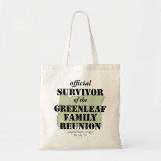 Official Survivor (green) Tote Bag